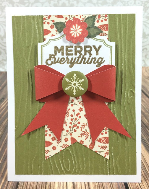 Cricut Artiste Merry Everything card