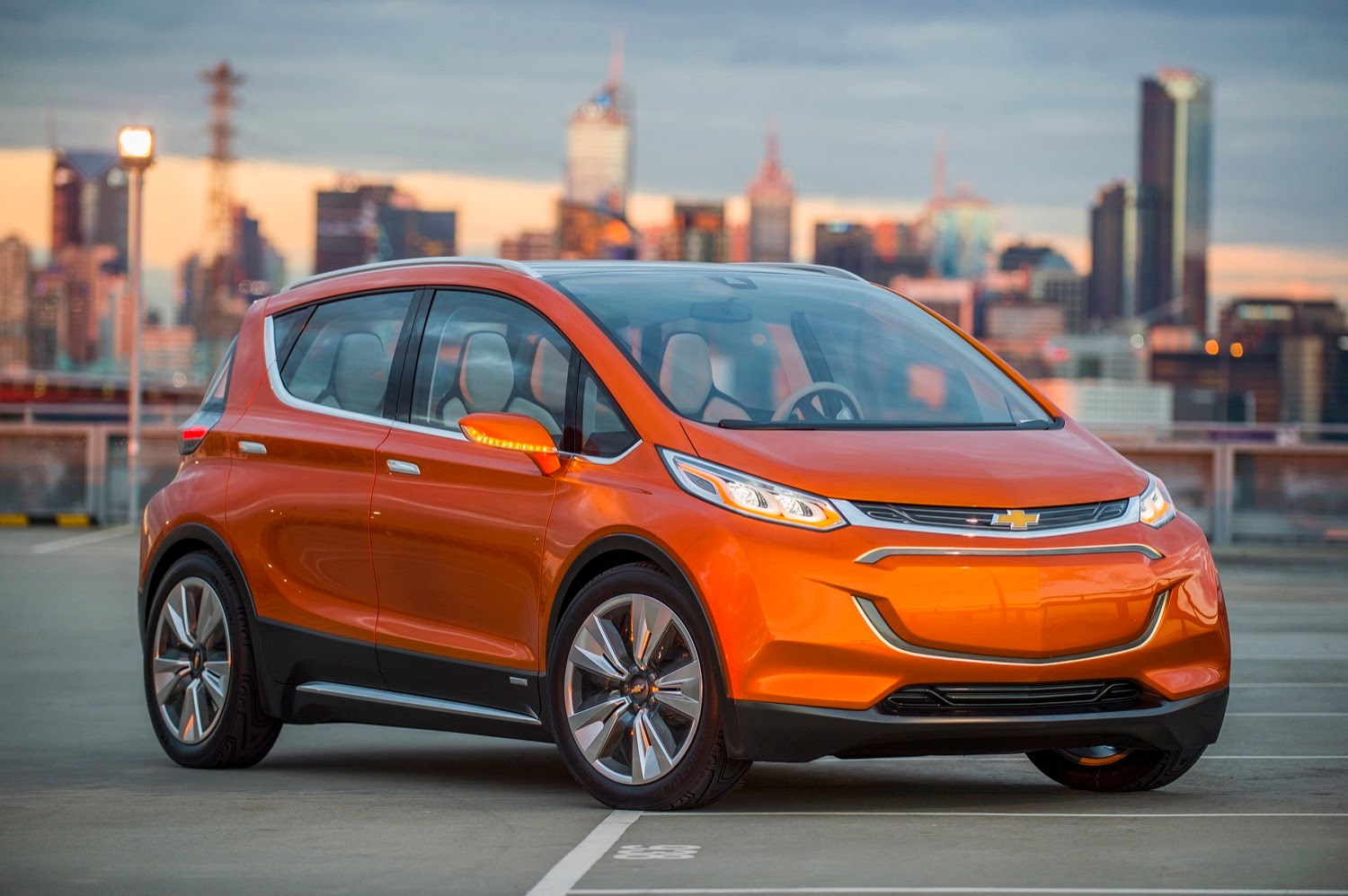 This is the Chevrolet Bolt EV Concept Vehicle
