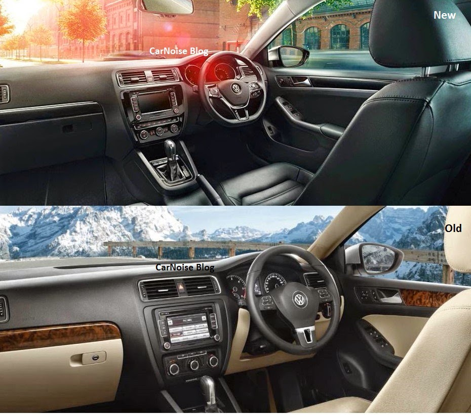 comparison 2015 vw jetta facelift new vs old carnoise. Black Bedroom Furniture Sets. Home Design Ideas