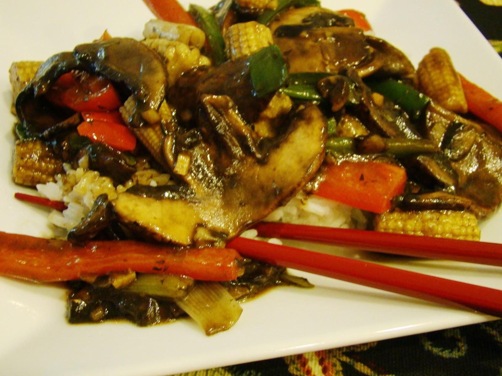 Soup Spice Everything Nice: Hunan Chili Mushrooms