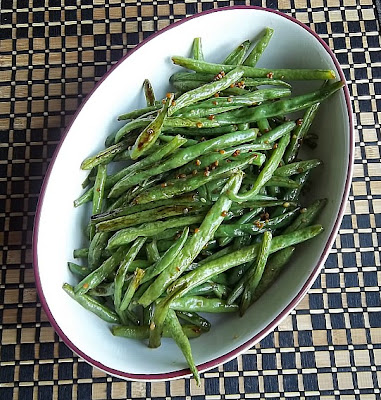 Roasted Sesame Green Beans