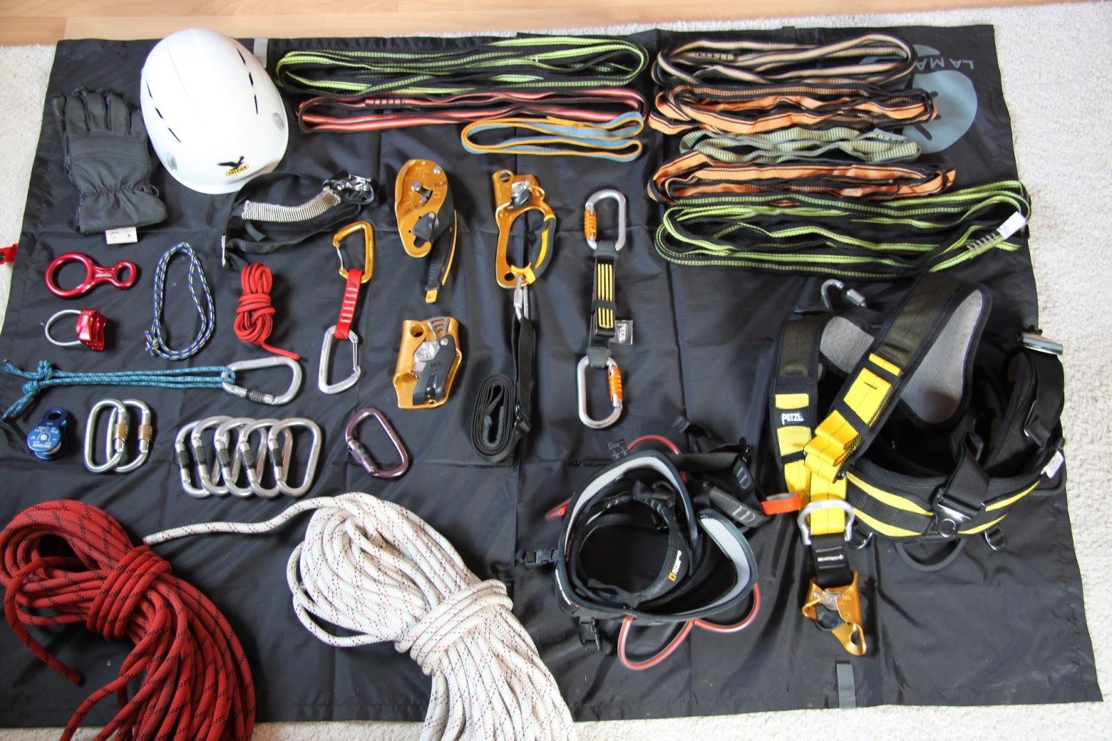 Kletterausrüstung Sicherung : Hidepep: geocaching ausrüstung