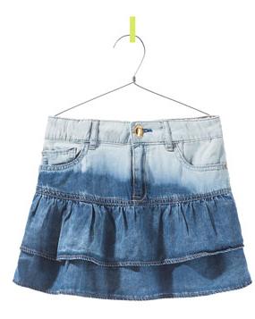 Basta echar un vistazo a la sección de faldas de Zara Kids fcae3cc27a48
