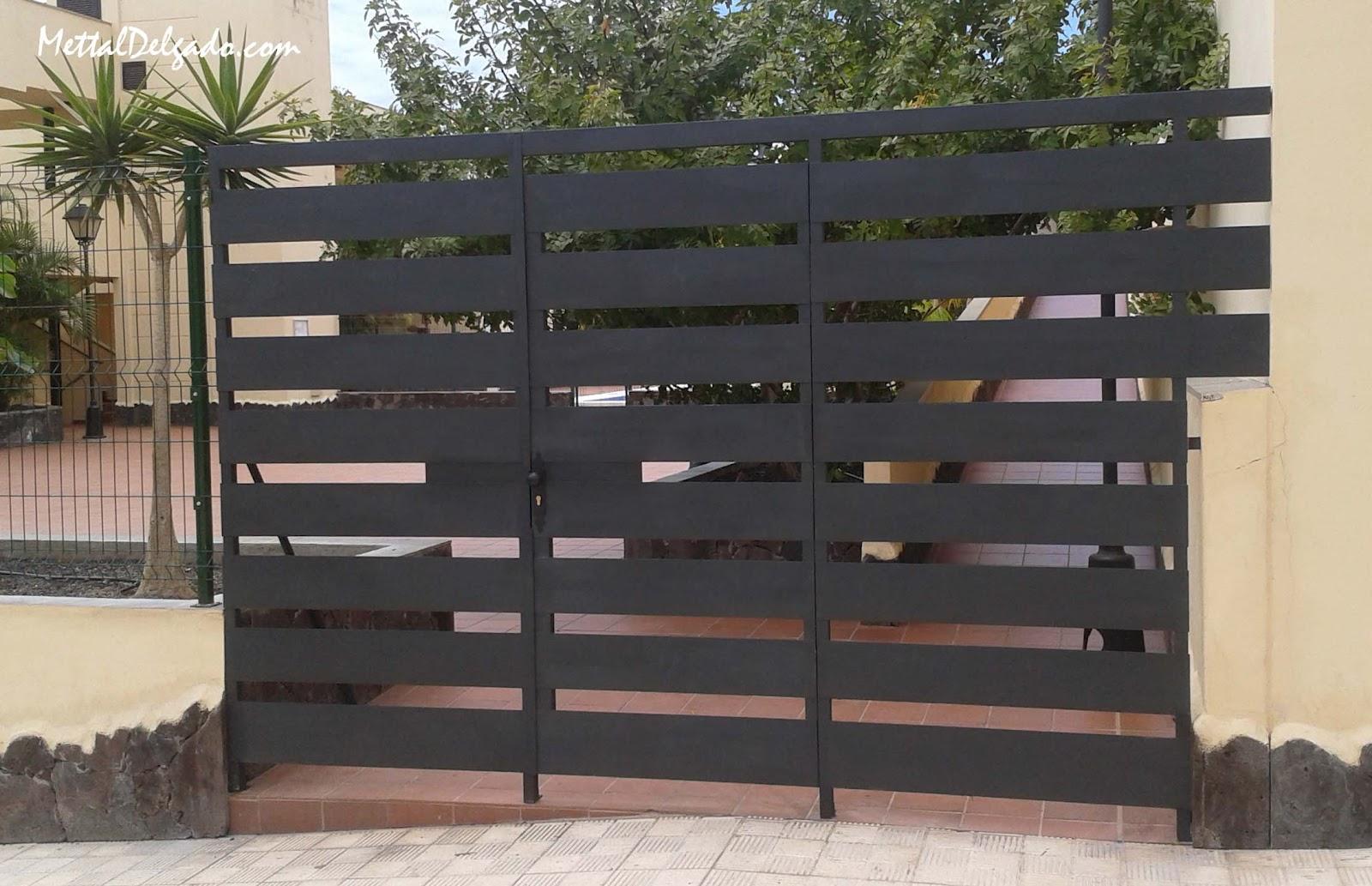 Puertas De Hierro Exterior. Puerta Exterior Blanca Puerta Exterior ...