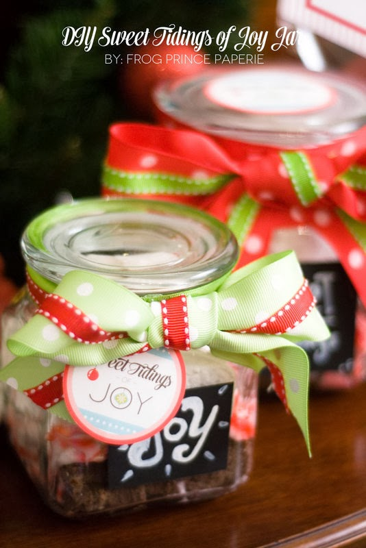 The Party Hop: Handmade Holiday DIY Sweet Tidings Of Joy Jar