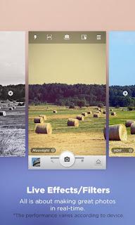 Camera360 Ultimate - Aplikasi Kamera Android Terpopuler hadir dengan versi terbaru