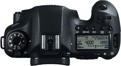 Fungsi menu Canon EOS 6D