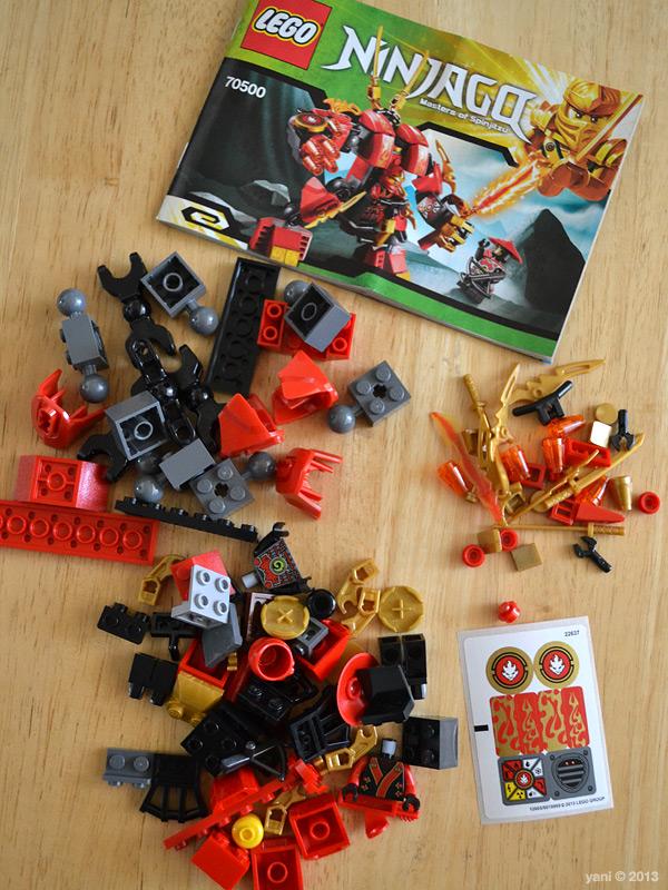 lego ninjago mech instructions