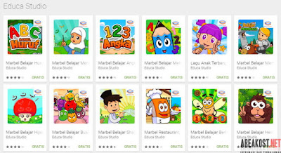 Game Edukasi Untuk Anak Balita