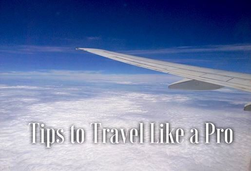 Tips to Travel Like a Pro
