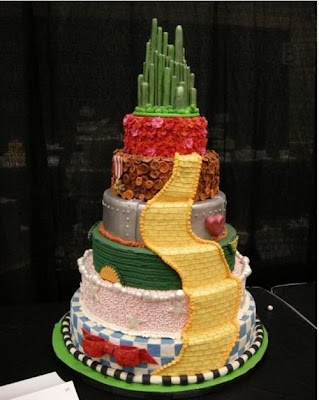 Wizard Of Oz Wedding Cake