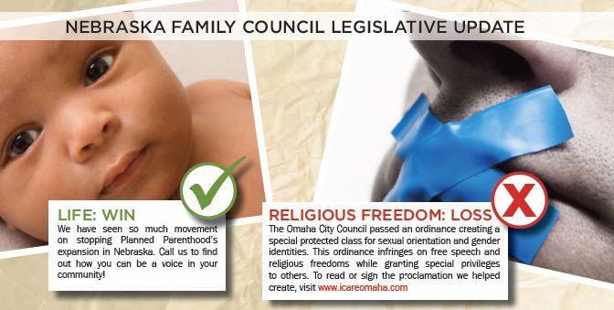 Nebraska Family Council claim (click picture to enlarge): Omaha's LGBT fair ...