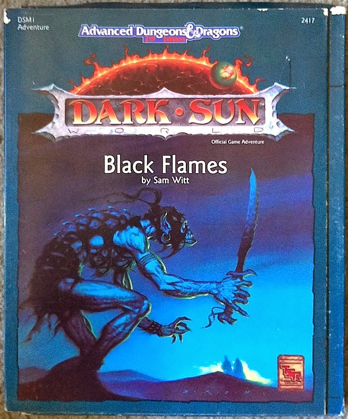 Cover of Black Flames