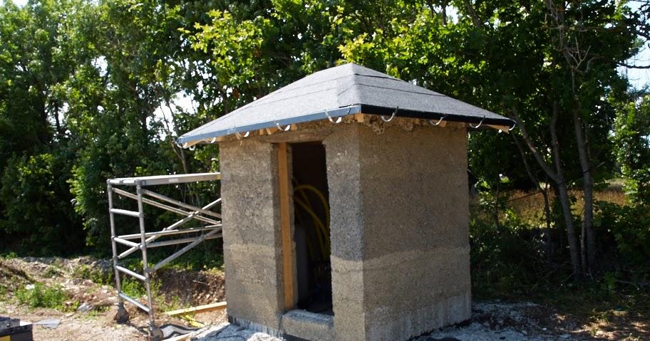 Hus byggt av hampa/hamp/hemp
