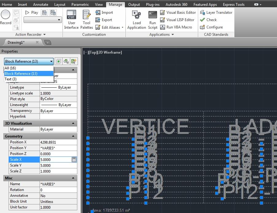 AutoCAD: Tutoriales, Tips y Trucos: Dibujar Cuadro de Datos Tecnico ...