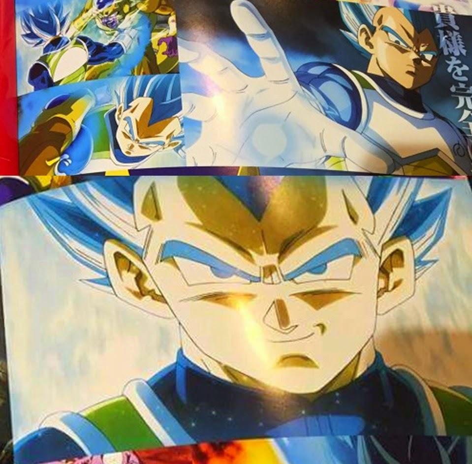 Vegeta juga bisa menjadi Super Saiyan God Super Saiyan