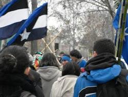 Marcha por la defensa del río Pijmaiken