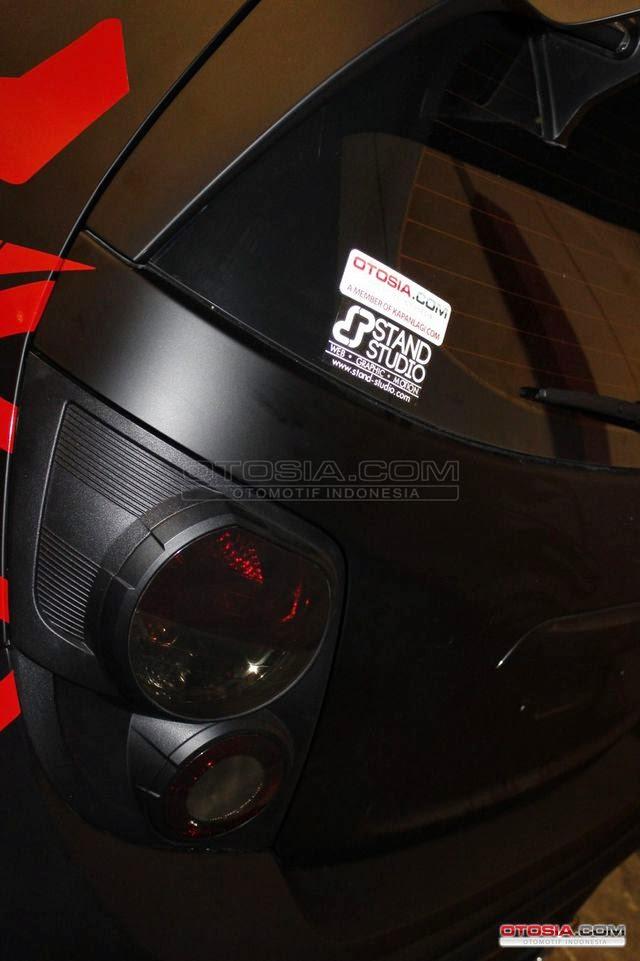 Foto Mobil Chevrolet Aveo Modifikasi Keren Ala Transformers
