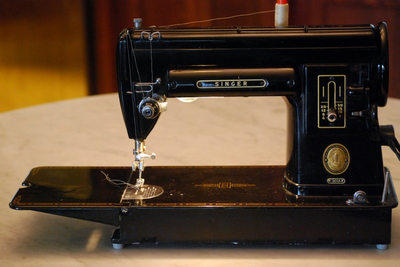Unschool Plus Quilting On A Singer 40 Simple Singer 301a Sewing Machine