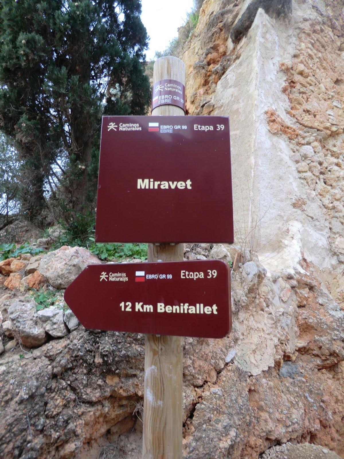 Resultat d'imatges de gr 99 Miravet