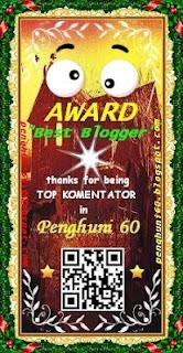 Award pertama si enha