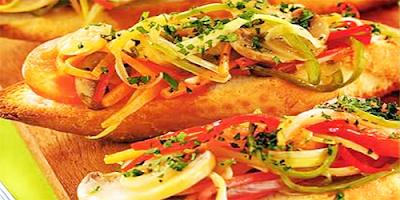 recetas vegetarianas bruschettas de vegetales