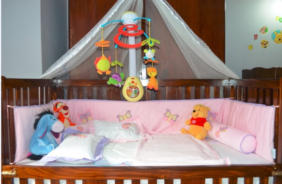 Cot Bed Sheets White