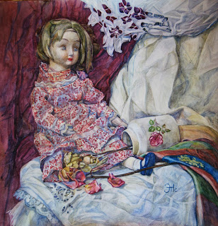 Татьяна Животкова. Куклы и розы