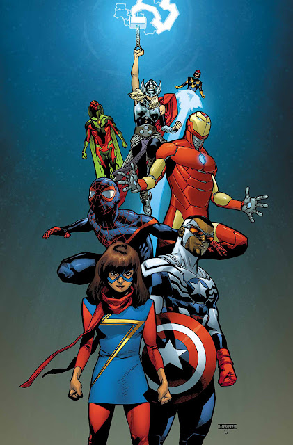 All-New, All-Different Avengers personajes