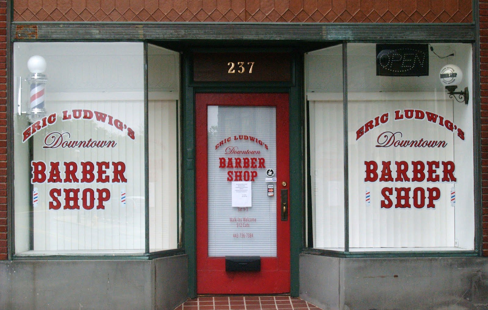 Barber Shop Open On Monday : Salisbury News: Erics Barber Shop Will Be Closed Today