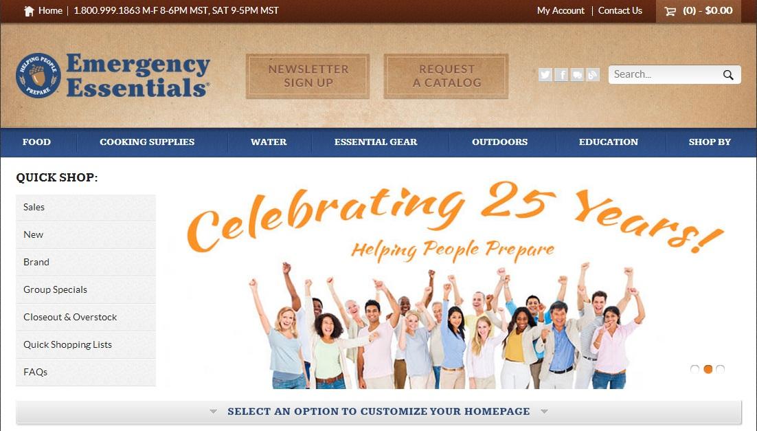 New Emergency Essentials Website And Blog Emergency