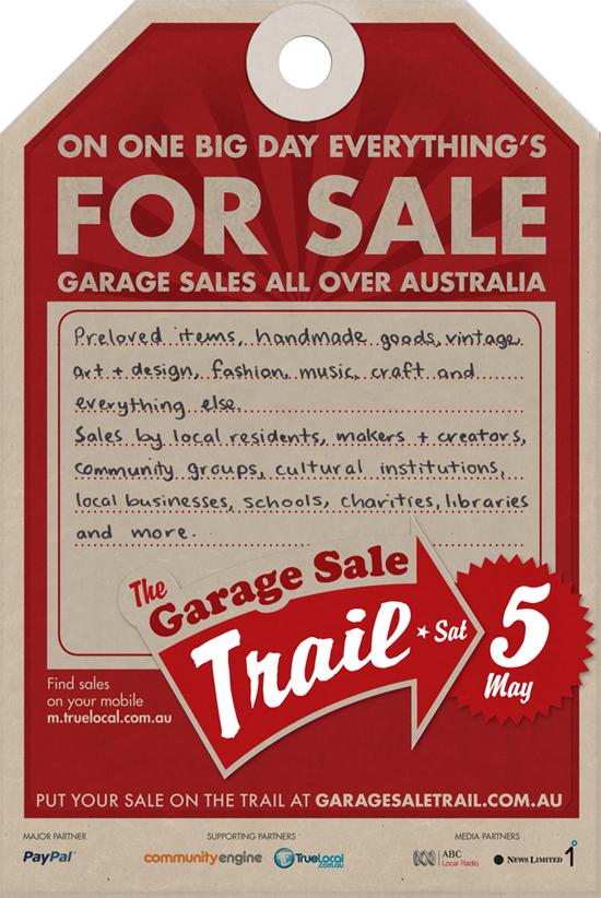 Safari Fusion blog | The Garage Sale Trail | Saturday 5 May
