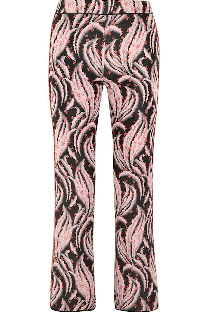 Giambattista Valli Jacquard Flared Pants At Net A Porter Com