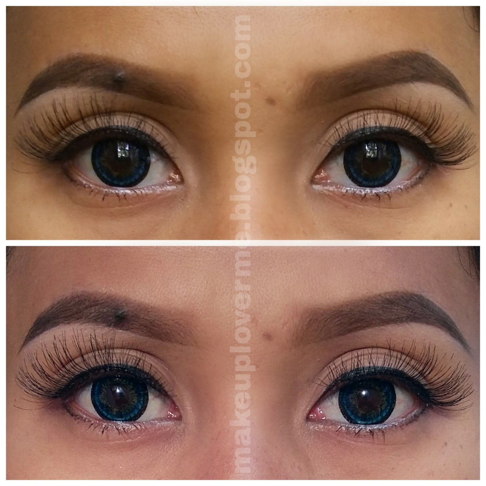 make up lover me review softlens dreamy moon blue brown