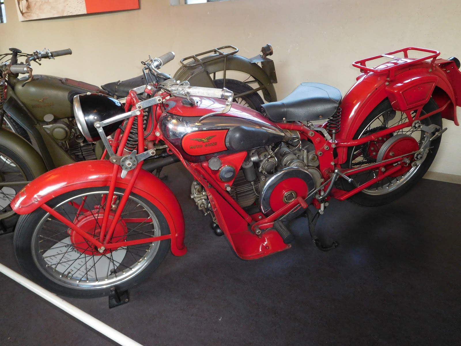 NYDucati: 1934-47 Moto Guzzi GTW 500 2