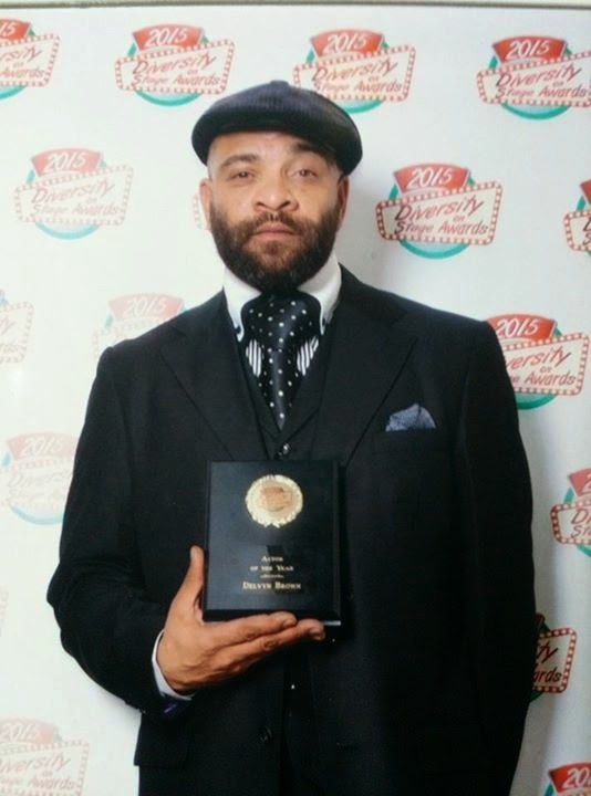 Delvyn Brown 'Actor of the Year'