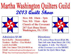 2013 QUILT SHOW