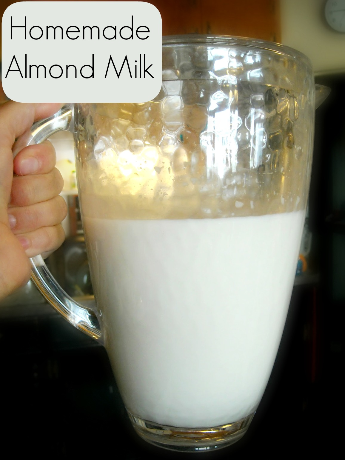 Homemade Almond Milk - The Pistachio Project