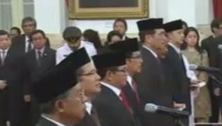 Presiden Reshuffle Kabinet, 6 Menteri Diganti