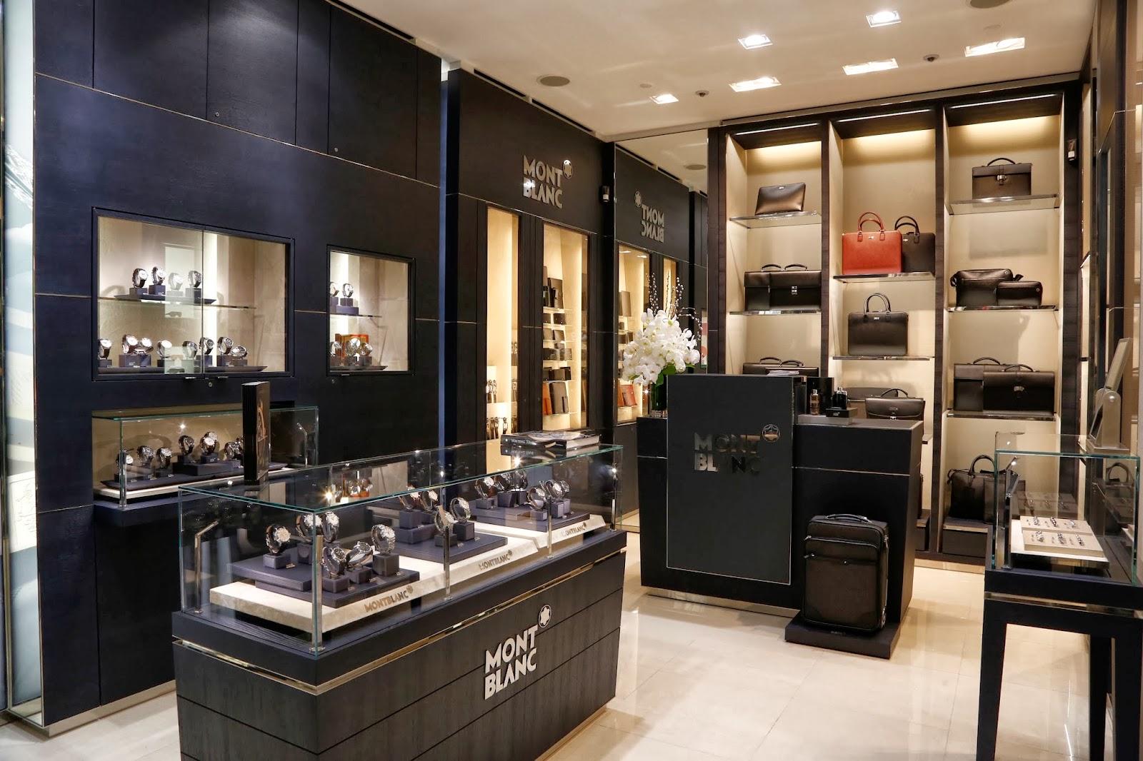 ber fashion marketing montblanc inaugura novo endere o exclusivo em s o paulo a boutique. Black Bedroom Furniture Sets. Home Design Ideas