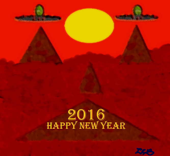 NEW YEAR'S EVE ON MARS