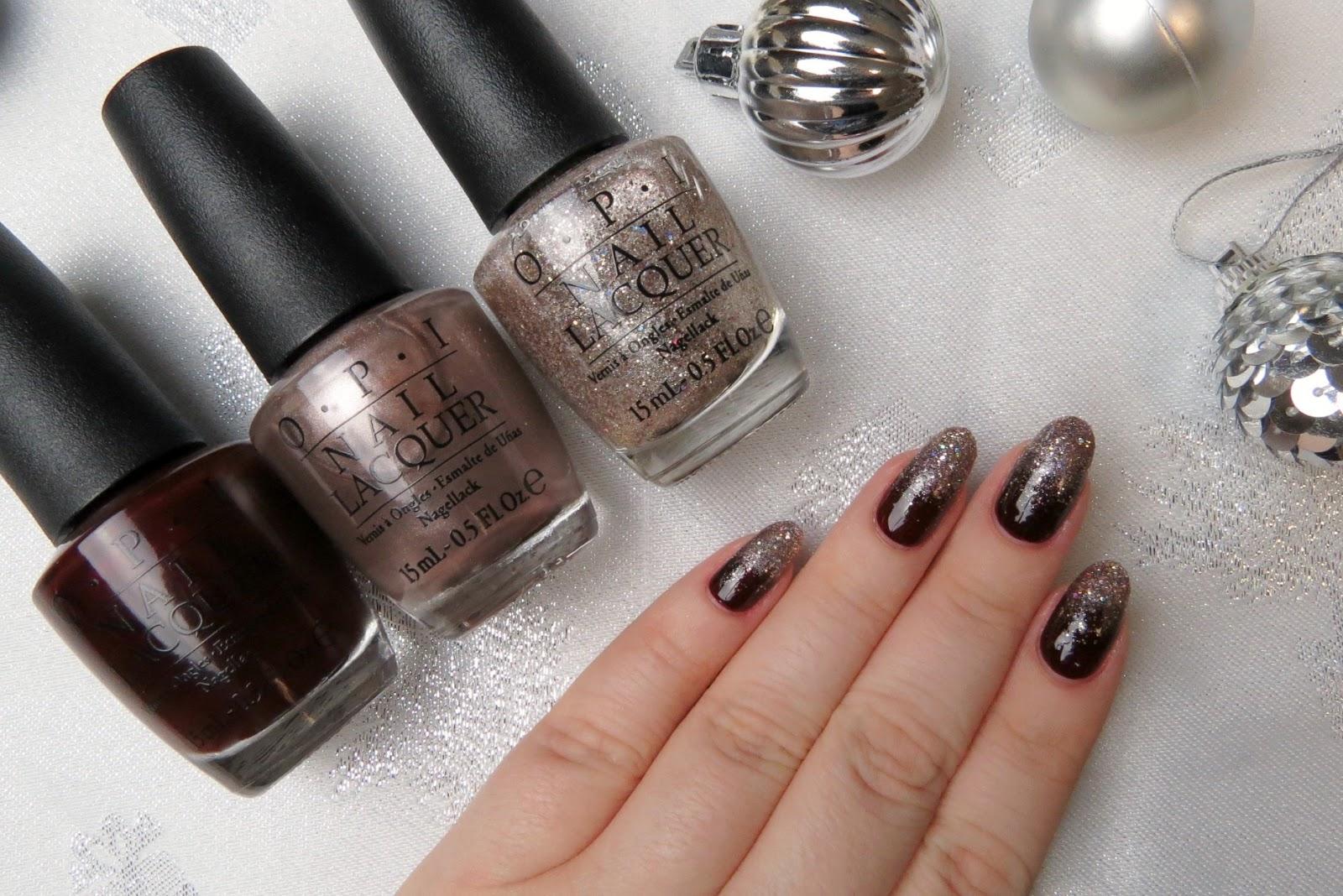 Mani Monday Glitter Ombre Trick Kaitlyn Elisabeth Beauty