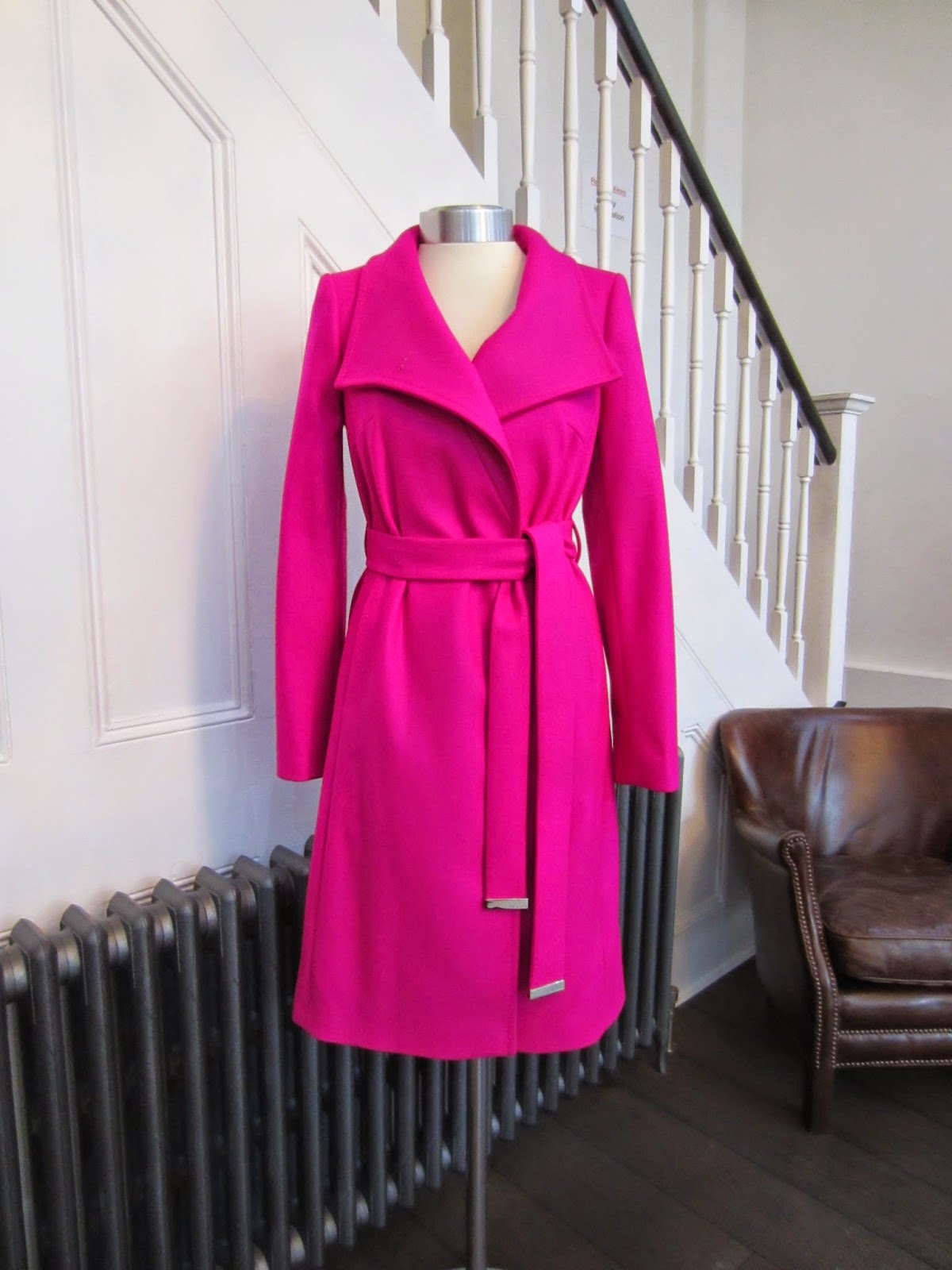 Ted Baker Deep Pink Coat