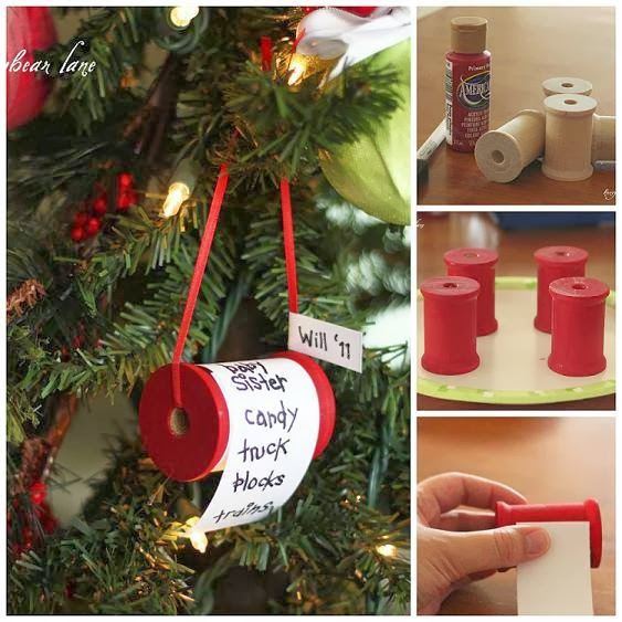 Cute pinterest christmas diy ornaments for Christmas decorations to make yourself