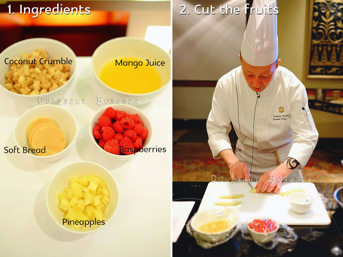My Sweet Moments with Chef Frederic Scailteur