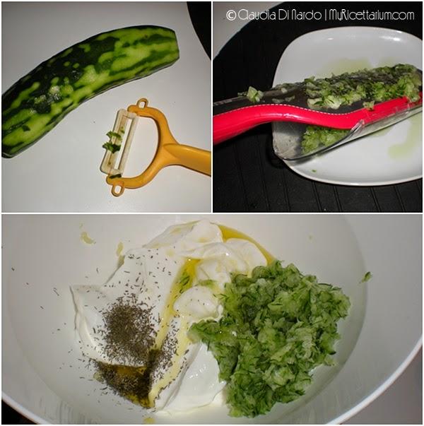 Tzatzichi (salsa greca di yogurt e cetrioli)