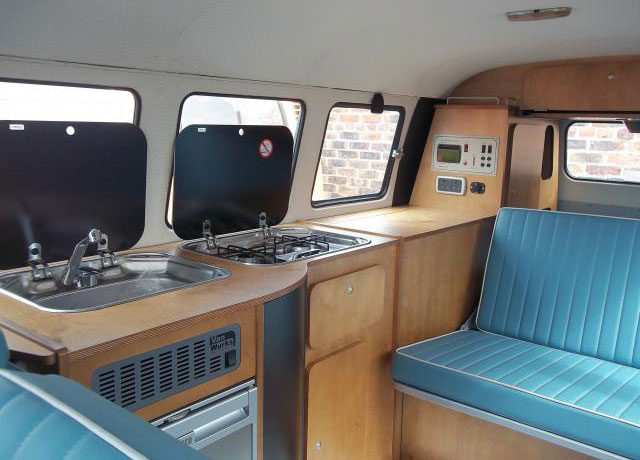 VW Bus Camper Interior