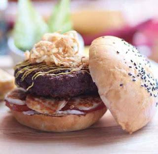 Camel meat burger
