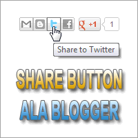 Membuat Share Button Blogger Ala Kompi Ajaib