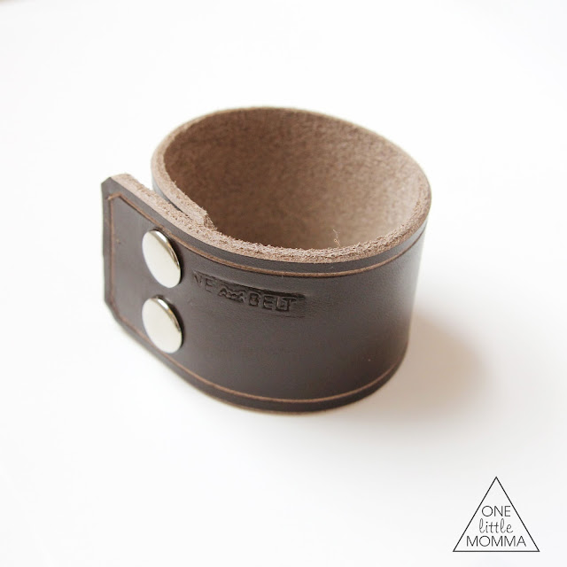 New leather cuffs now available from ONE little MOMMA on Etsy are an awesome accessory this season.